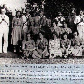 Fairseat Folk Dance Society 1935
