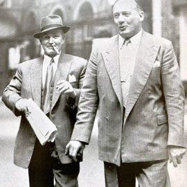 Albert Pierrepoint and Robert Fabian
