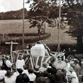 Stansted War Memorial unveiling in July 1923