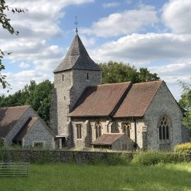 St Marys Church, Stansted, with Cloisters added in 2015