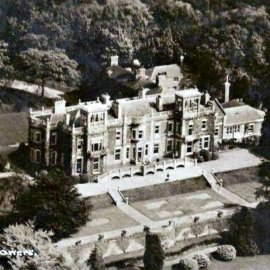 Aerial view of Trosley Towers