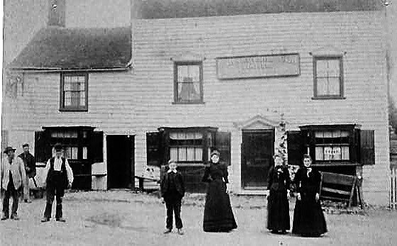 The Horse & Groom, Stansted, Kent, 1887