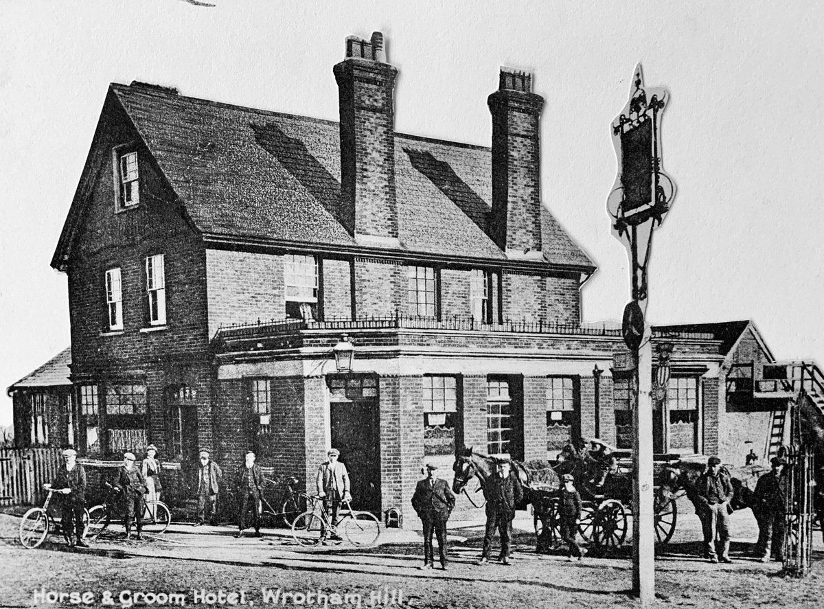 The Horse & Groom, Stansted, Kent, 1909