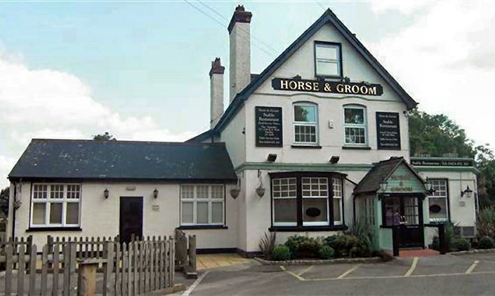 The Horse & Groom, Stansted, Kent, 2009